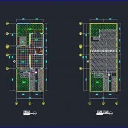 download desain rumah tinggal 36 dwg